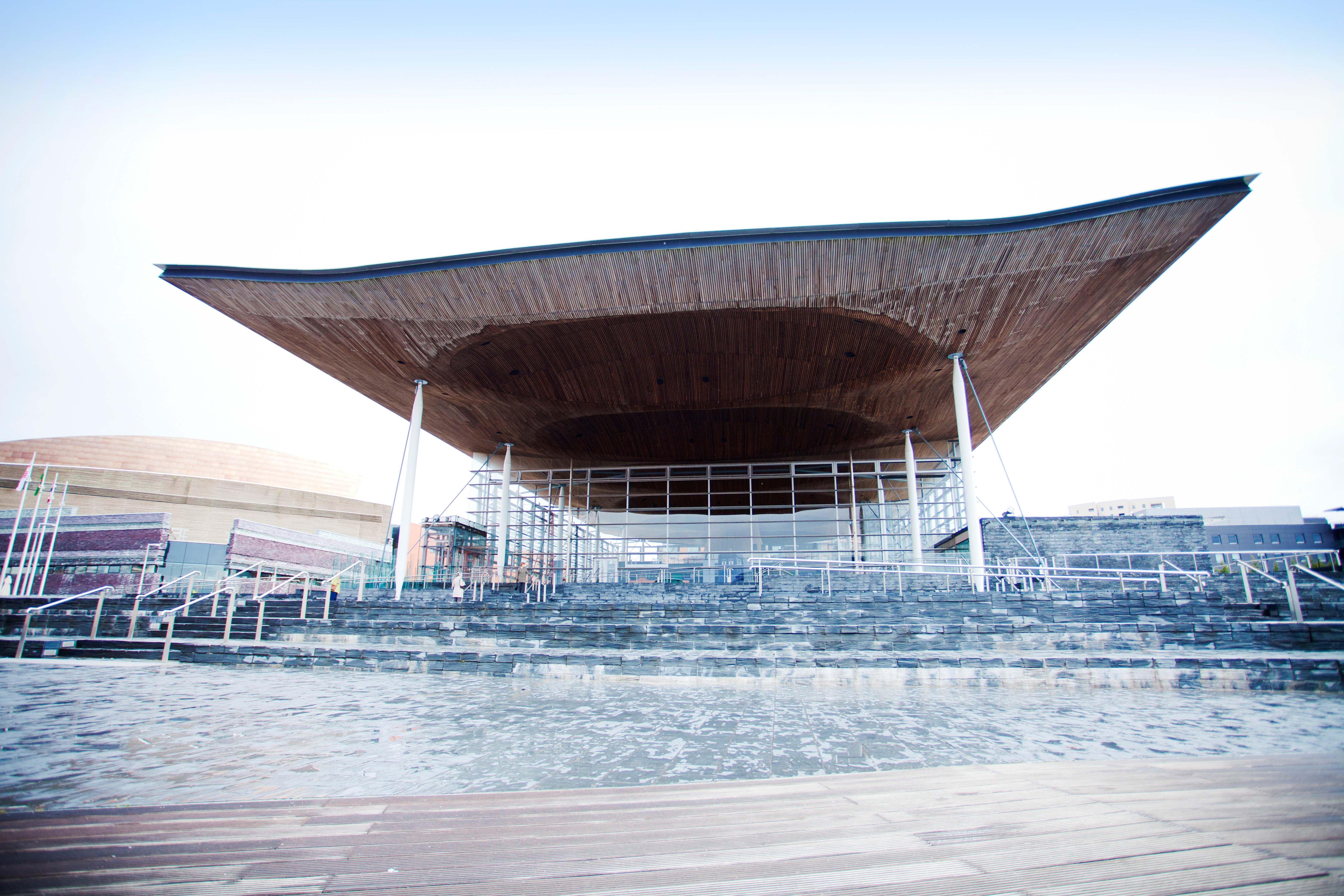 National Assembly for Wales Senedd building