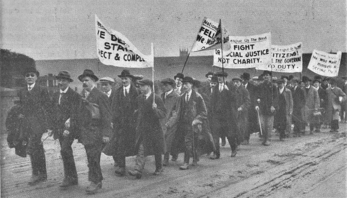 The Blind March which took place in 1920