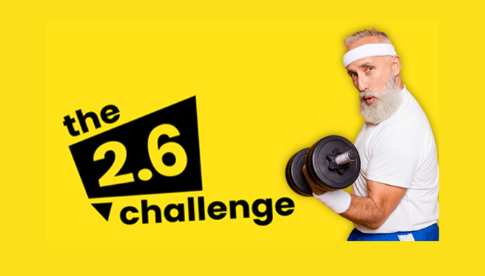 Join Challenge 2.6 and fundraise for RNIB.