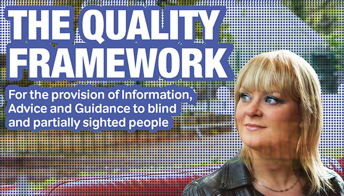 Image is the front cover of the Quality Framework