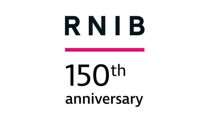 RNIB 150th logo