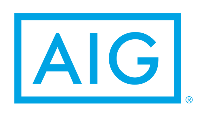 Image shows the AIG logo