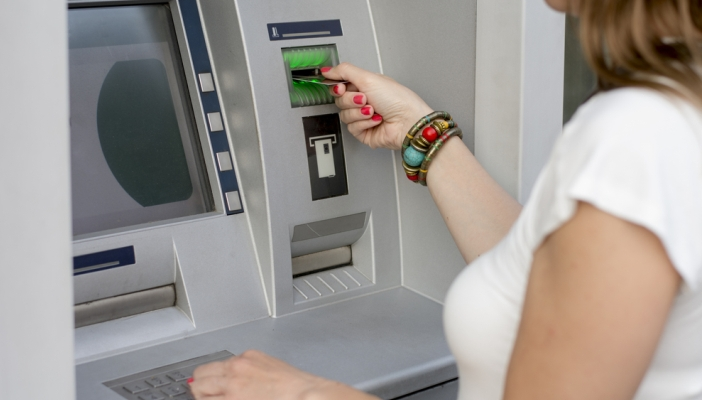Image result for people at an ATM