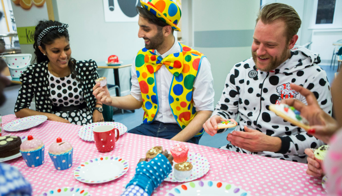 we've got lots of wear dots raise lots bake off ideas