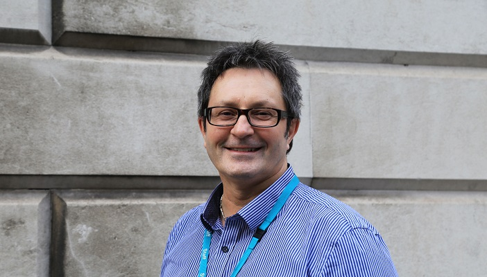 Image of Alex Saunders, blog author and RNIB Employment Impact Officer