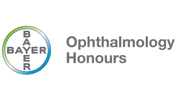 Bayer's Ophthalmology Honours awards logo