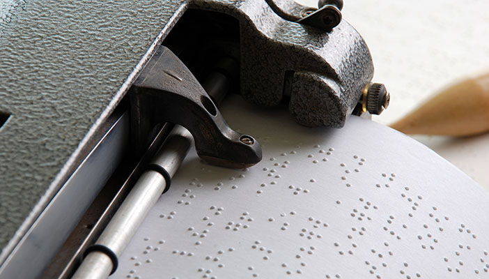 Braille machine