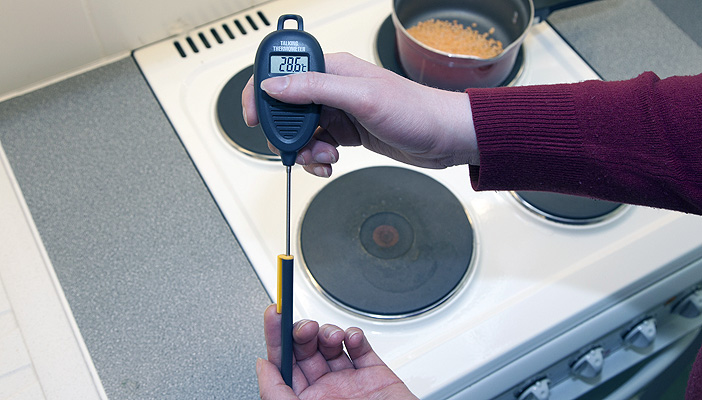 Cooking Rnib See Differently