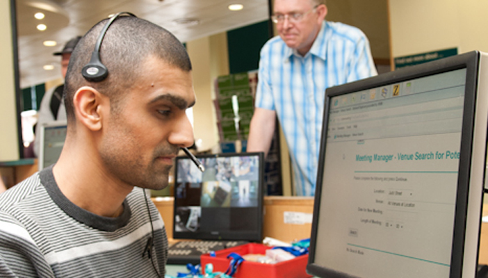 jobs for blind visually impaired people