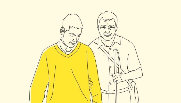 Top tips: guiding a person with sight loss