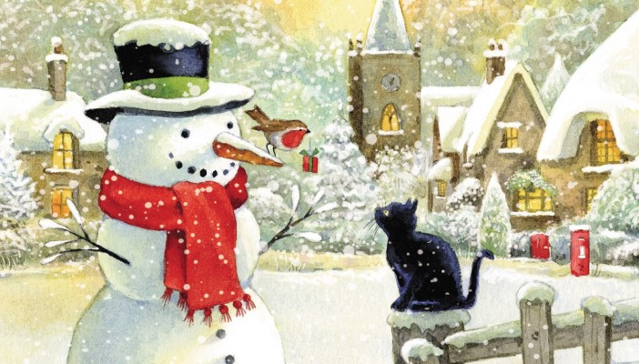 Christmas card available from RNIB Shop