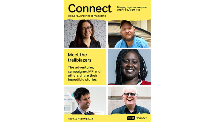 Cover of Connect Magazine, Issue 19, Spring 2018