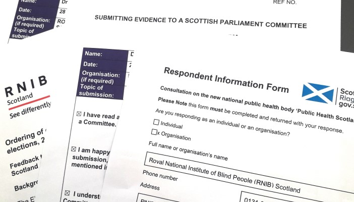 RNIB Scotland Consultation responses
