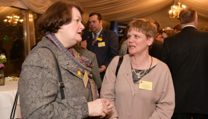 Dr Philippa Whitford MP with Allison West
