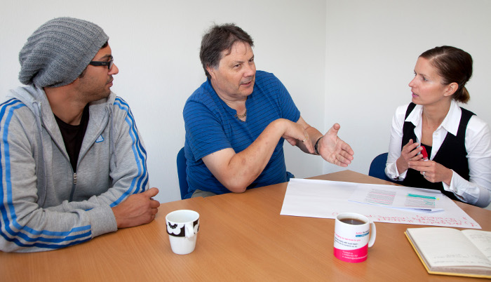 The employment assessment toolkit is for professionals helping blind and partially sighted people