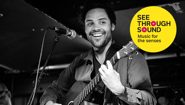 Andy Jordan is performing at our music event in October