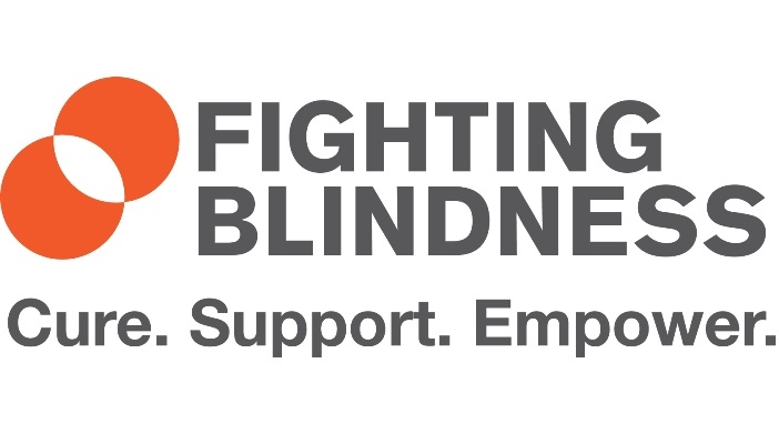 The Fighting Blindness charity logo