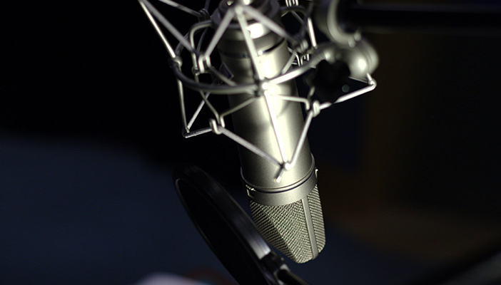 Our studio microphone