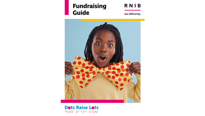 Dots Fundraising Guide front cover