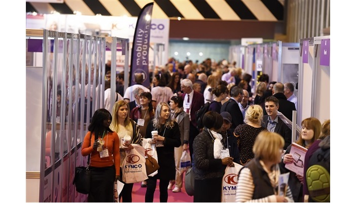 Naidex exhibition hall filled with attendees