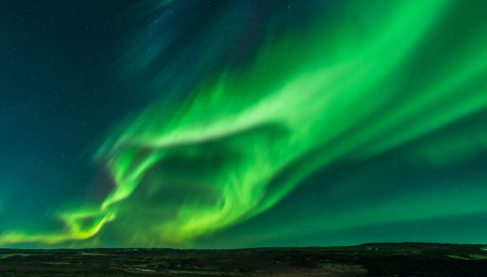 See the Northern Lights on the RNIB Iceland Trek