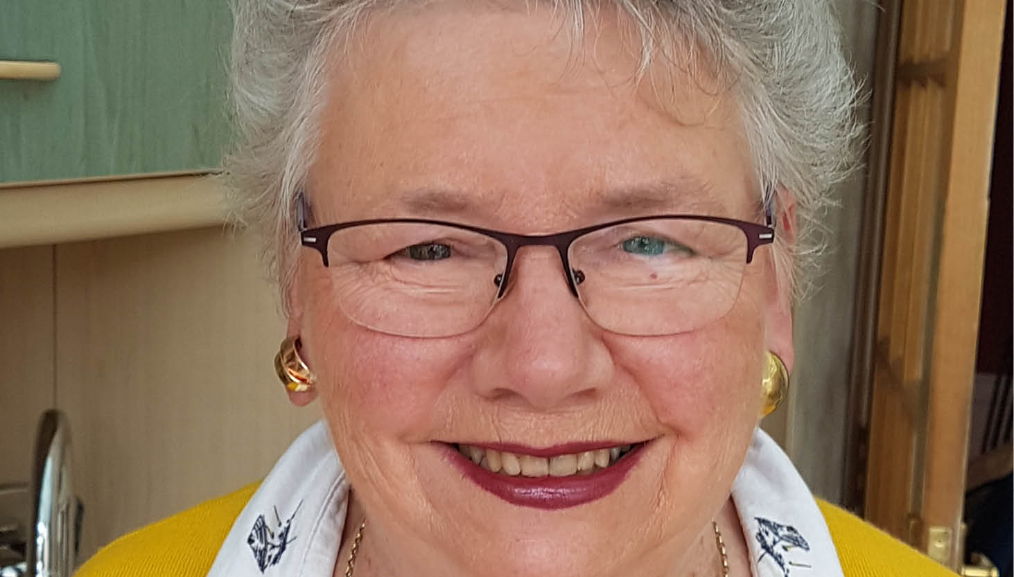 Hazel Kelly, an attendee of RNIB's Living with Sight Loss course