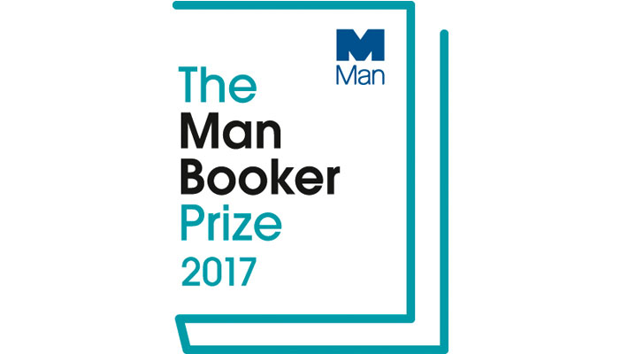 Image shows the Man Booker 2017 logo