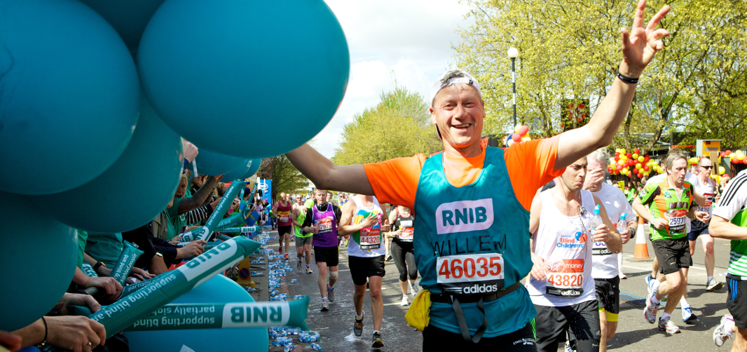 Run the London Marathon with RNIB