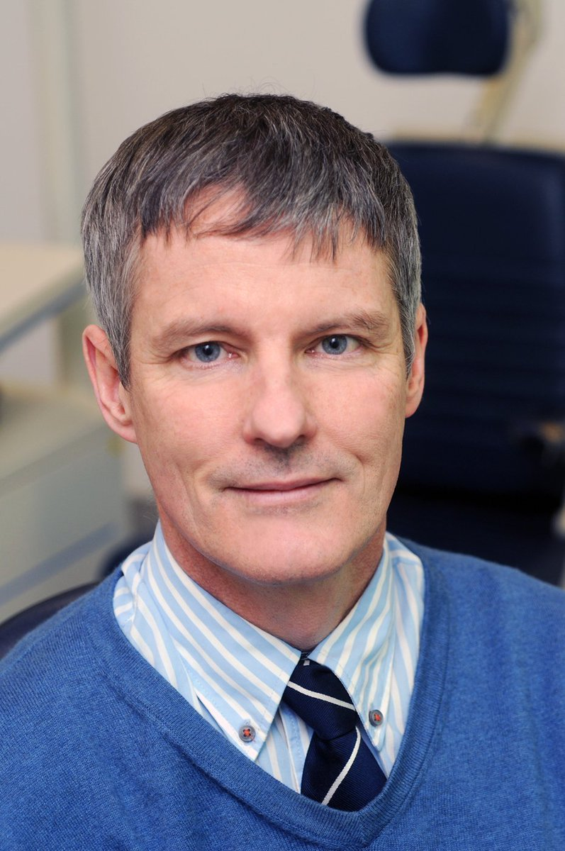 Mike Burdon is the President of the Royal College of Ophthalmologists