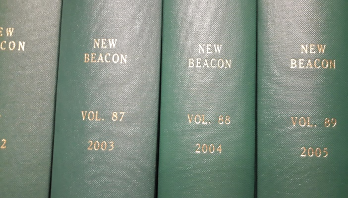Copies of New Beacon