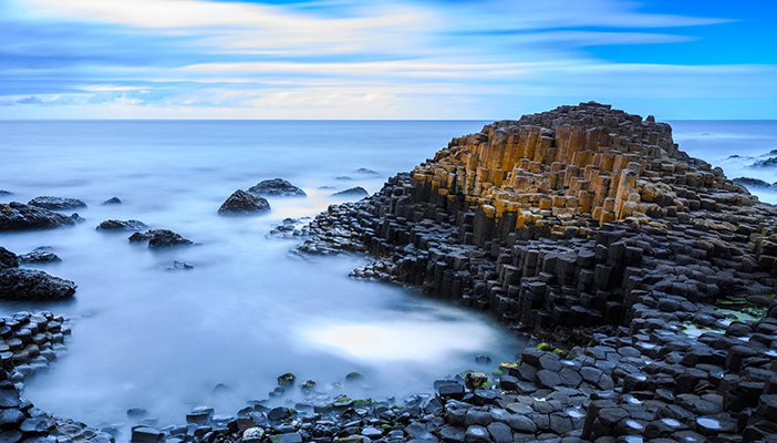 Photo of Giant's Causeway in Northern Ireland