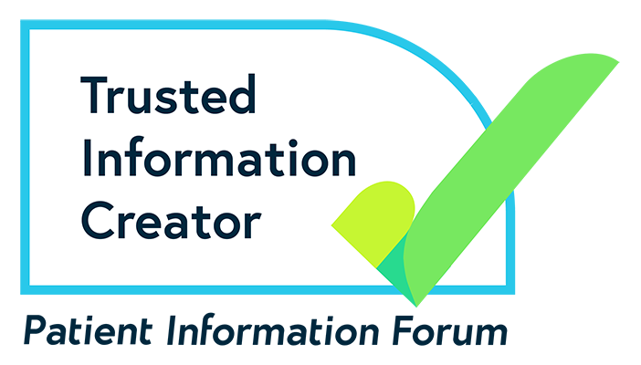 "PIF TICK logo with wording: ""Trusted Information Creator"" and ""Patient Information Forum"""