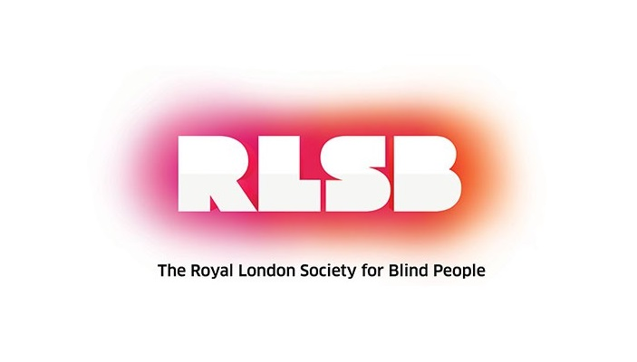 the logo for the Royal London Society for Blind People