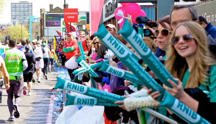 We love to cheer on our London Marathon runners