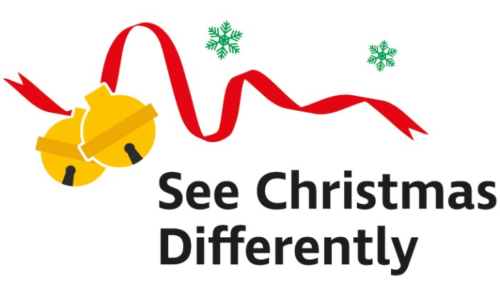 See Christmas Differently logo