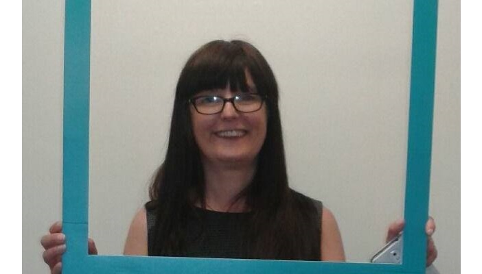 Photo of blog author and RNIB Design and Evaluation Officer Tracy Dearing