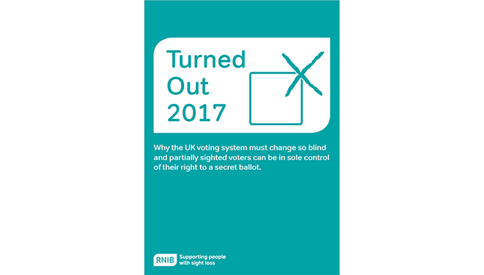 Cover of RNIB's Turned Out report