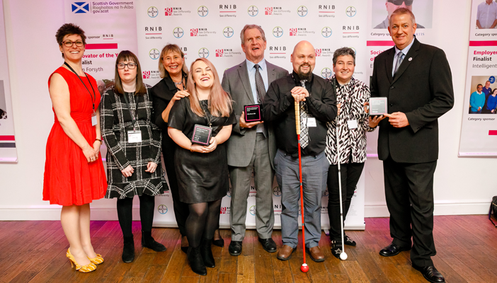 All the winners of the See Differently Awards