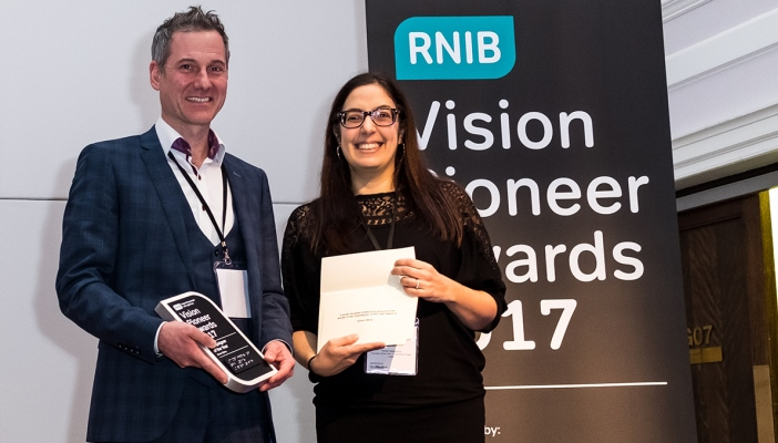 Winners of the Vision Pioneer Awards 2017