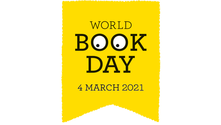 World Book Day logo 4 March 2021