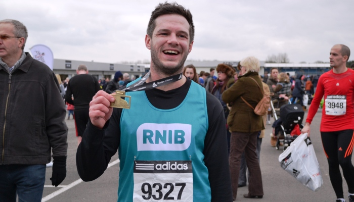 Take on a challenge and join team RNIB!