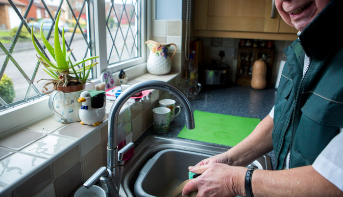 Information on completing the washing and bathing section of PIP