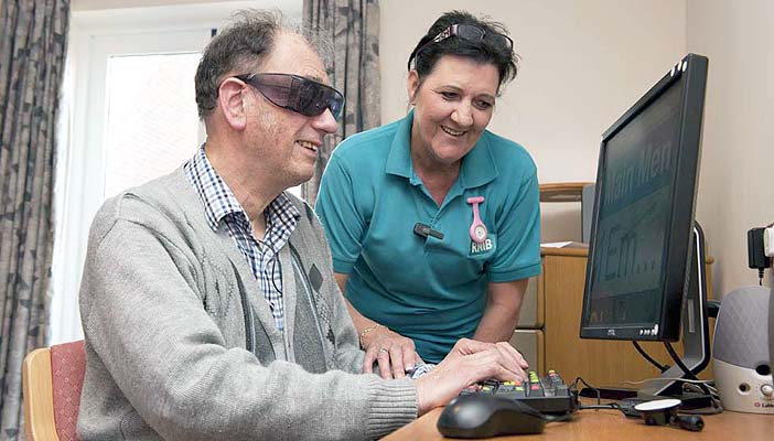 With the kind and generous donations from our supporters, we can reach more blind and partially sighted people that need our help.