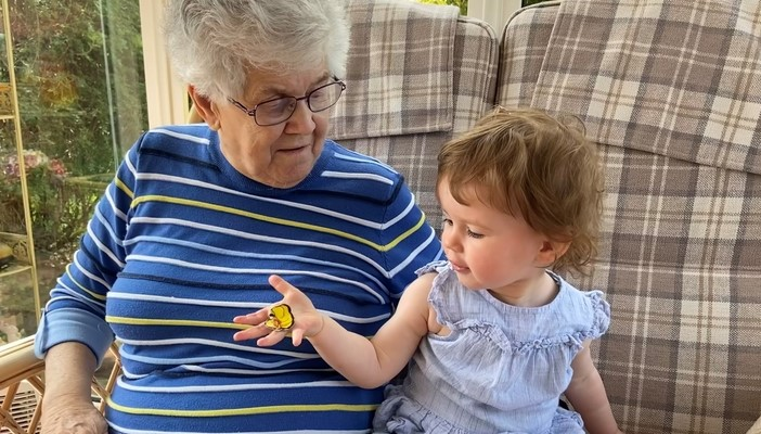 Nan Murray with her youngest great grandchild