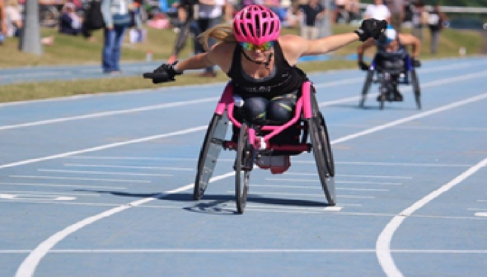Olivia Gallagher, T33 wheelchair racer